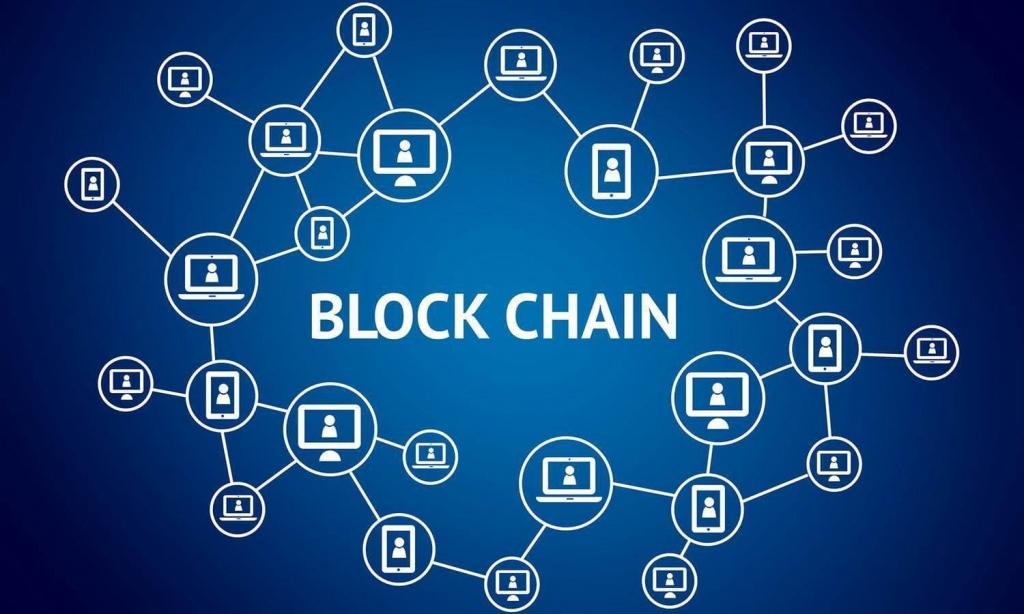 Como investir em bitcoin - Blockchain em funcionamento