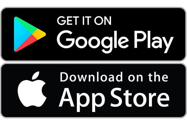 google play & apple store - lojas de aplicações