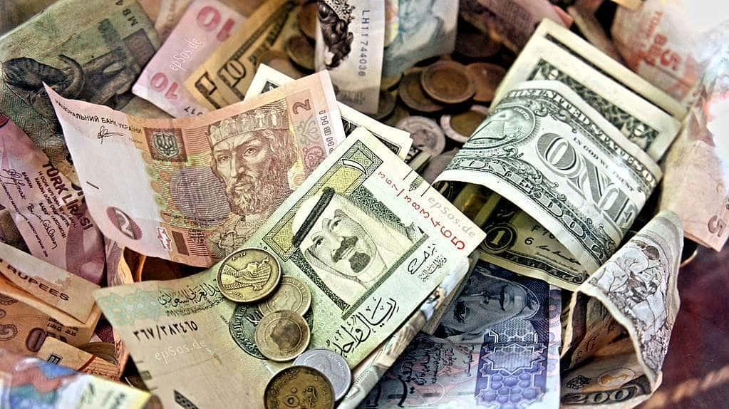 Dinheiro fiat versus bitcoin