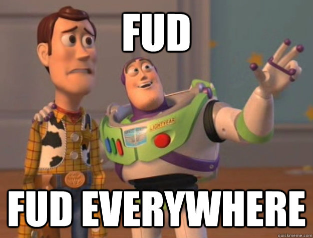 FUD,  Fear, Uncertainty and Doubt (Medo, Incerteza e Dúvida)