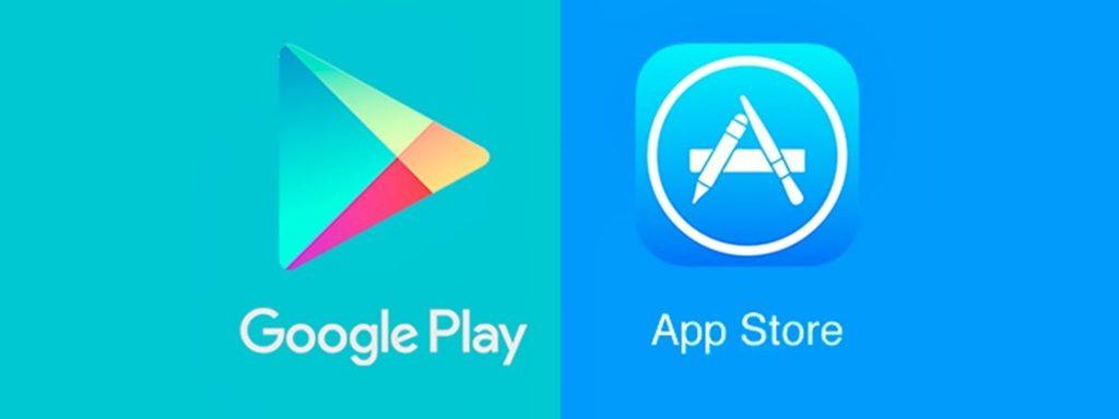 Lojas de aplicativos