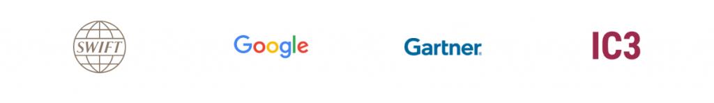 Google SWIFT Gartner IC3 Parceiros Chainlink