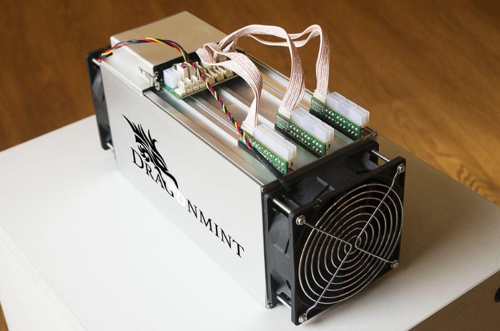 ASIC usado para minerar Bitcoin