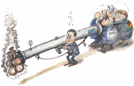Mario Draghi e a Bazooka do BCE