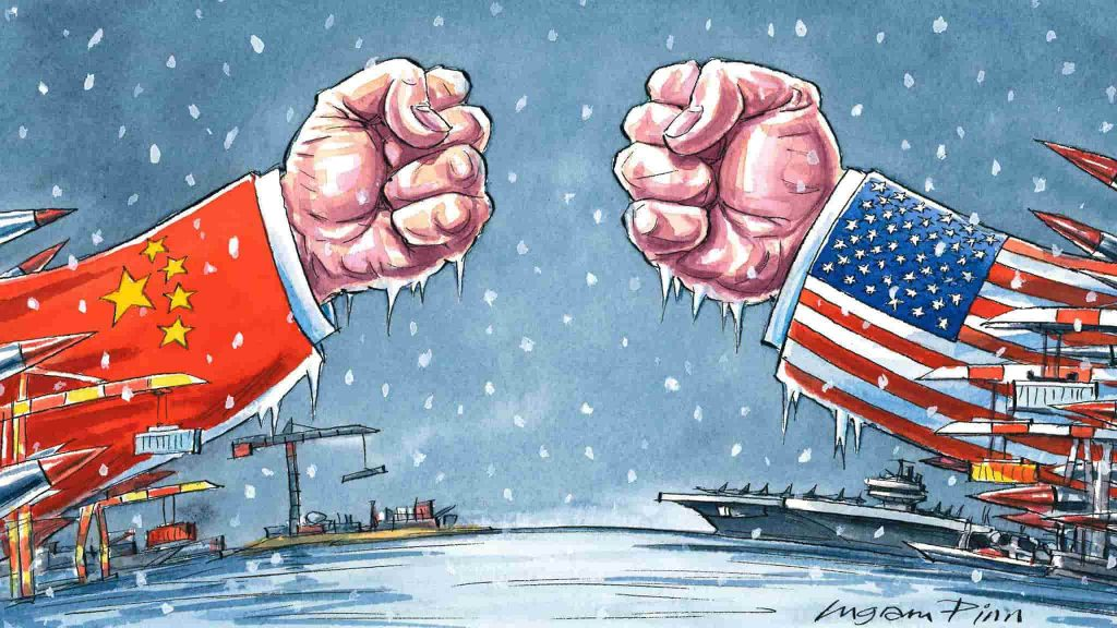 Braço de Ferro Economia EUA China