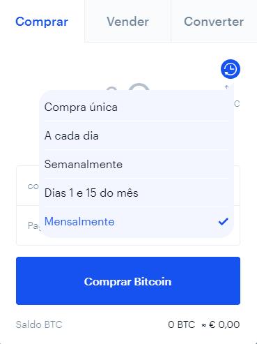 Coinbase Compras regulares