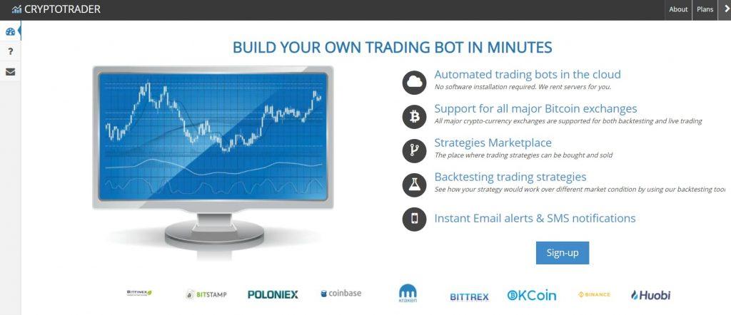 Trading Bots CryptoTrader