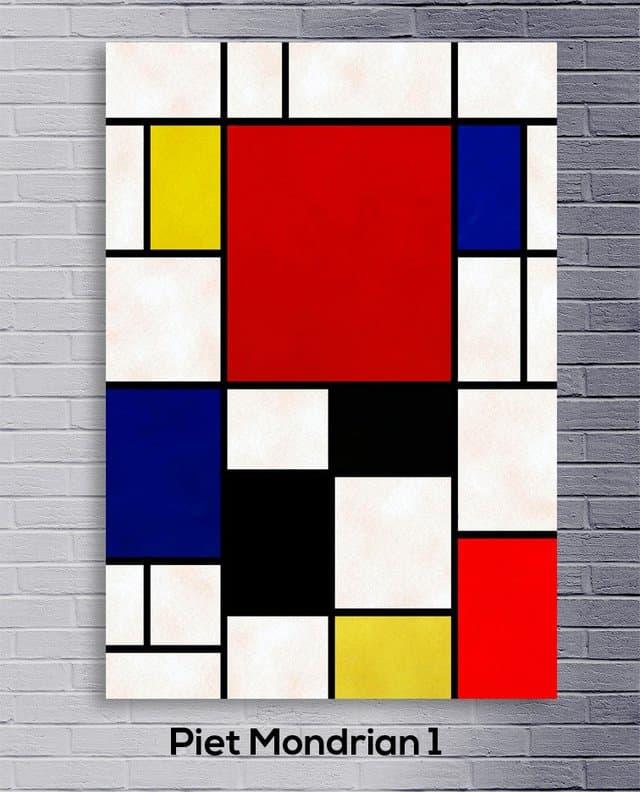 Piet Mondrian Fibonacci