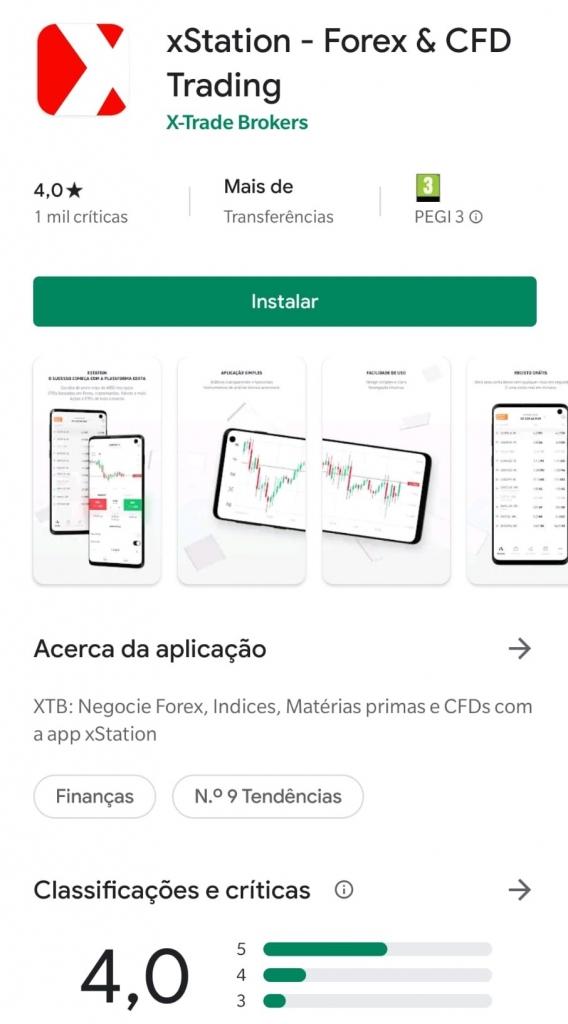 XTB Google Play