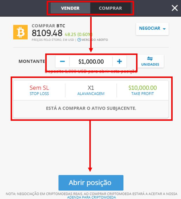 Comprar Vender Bitcoin eToro