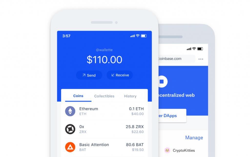 Coinbase App Coinbase Wallet