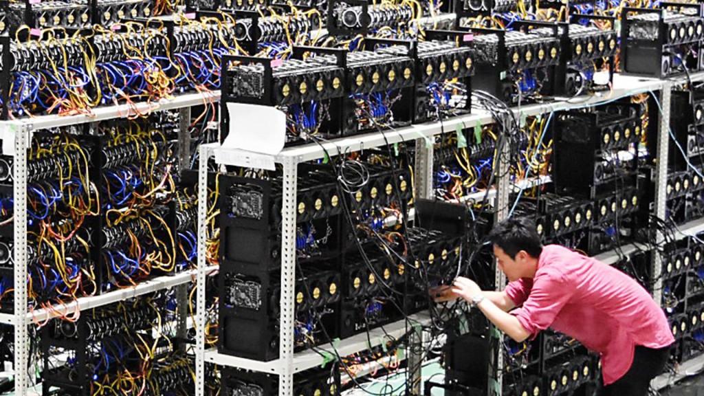 mineração criptomoedas Ethereum