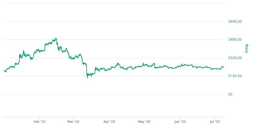 Bitcoin Cash Valor 2020