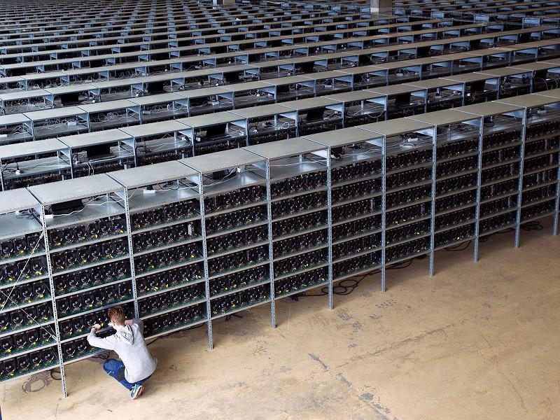 mineração de bitcoin - fazenda