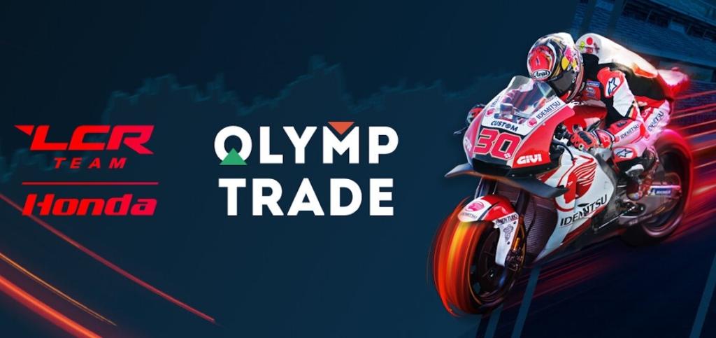 Olymp Trade Corretora Moto GP